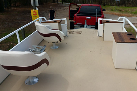 pontoon boat upholstery